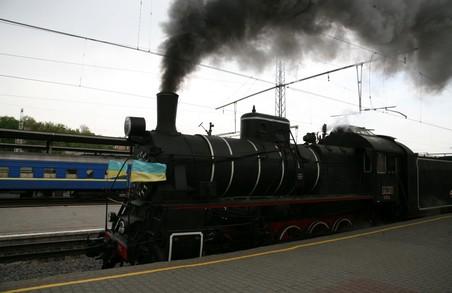 Ретропоїзд Південної залізниці здійснив святковий рейс з нагоди Дня Перемоги