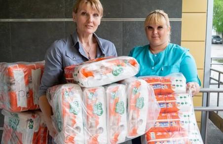 Харків отримав благодійну допомогу для новонароджених