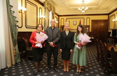 Світлична передала державні нагороди харківським музикантам