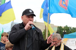 В Харкові пройшла акція проти знесення намету «Все для перемоги» (фоторепортаж)