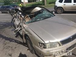 В Харкові сталася масова аварія