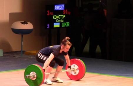 Харківська важкоатлетка встановила три рекорди України