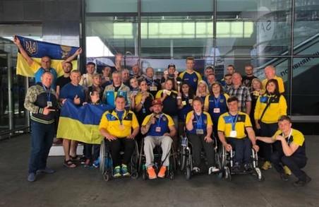 Харківські паралімпійці Харківщини здобули нагороди на чемпіонаті Європи
