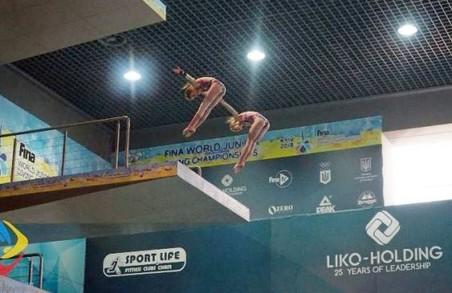 Харків'яни вибороли шість нагород на чемпіонаті України зі стрибків у воду