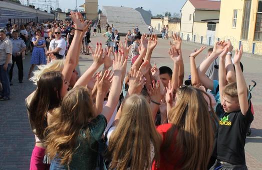 Діти Харківщини відправилися на оздоровлення до Одеси