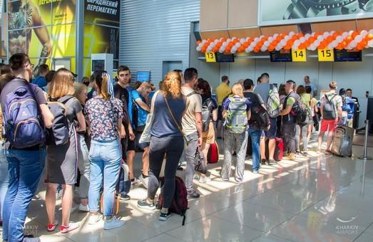 В аеропорту Ярославського відкрилося регулярне сполучення з італійським Ріміні і Одесою