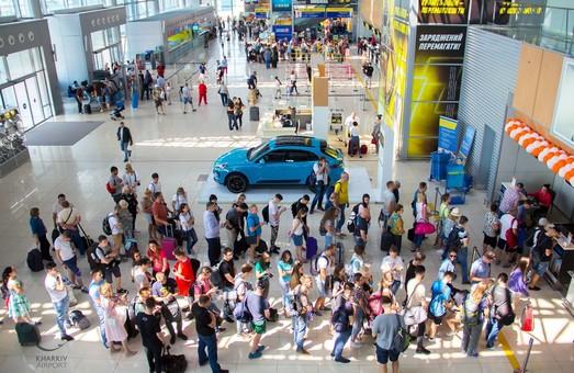 Пасажирський трафік на міжнародних рейсах харківського аеропорту Ярославського за 5 місяців виріс на 34%