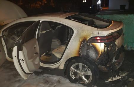 В Харкові загорівся автомобіль