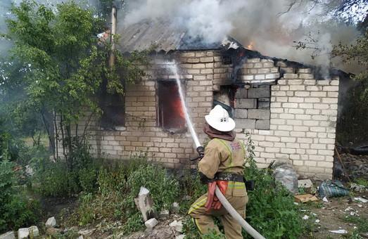 На Харківщині пожежа забрала людське життя
