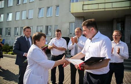 В лікарні Харківщини завершують ремонт приймального відділення