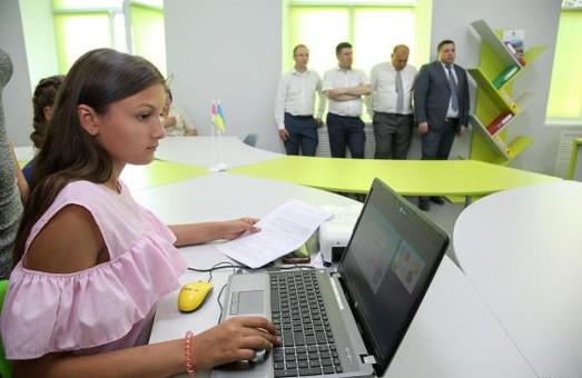 У Богодухові відкрили молодіжний хаб «Комп'ютерна грамота»