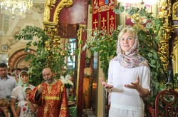 Світлична привітала мешканців області із Днем Святої Трійці
