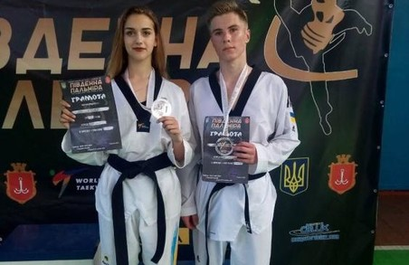 Харківські таеквондисти з медалями повернулися з Одеси