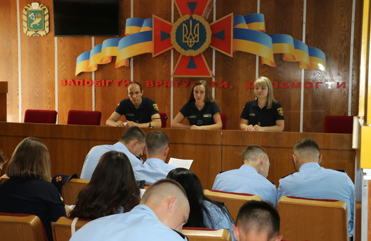 Лави Харківського гарнізону ДСНС поповнилися молодими фахівцями (ФОТО)