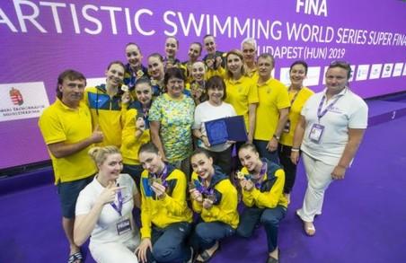 Харків'янки стали переможницями в Світовій серії із синхронного плавання