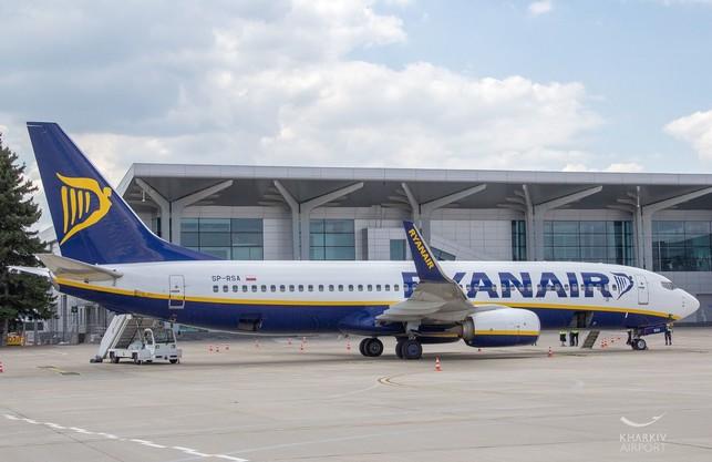 Ryanair запускає регулярні рейси з аеропорту Ярославського до польського Кракова