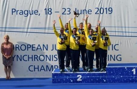 Юні харків'янки здобули сім нагород на чемпіонаті Європи