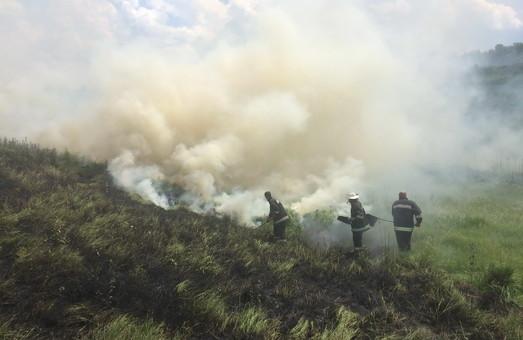 На Харківщині спалахнули 26 пожежних пожеж