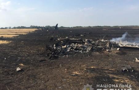На Харківщині впав навчальний літак