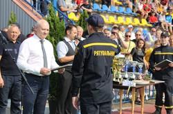 На Харківщині проходить чемпіонат України з пожежно-прикладного спорту
