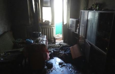 В Харкові внаслідок пожежі загинув чоловік