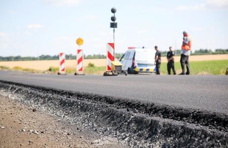 На автошляхах області тривають ремонтні роботи