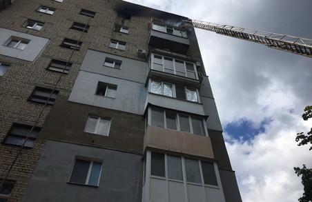 Мешканець Харкова загинув під час пожежі у своєму будинку