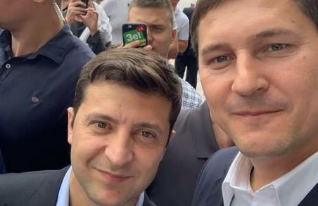 Харківський кандидат від партії «Слуга народу» розповів про бліц-зустріч із Зеленським у Дніпрі