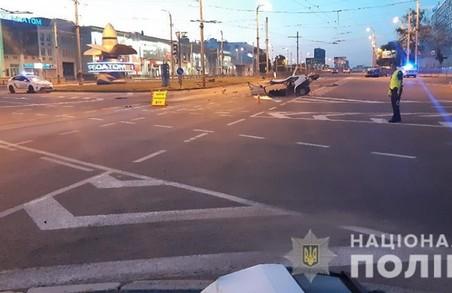 У Харкові в результаті аварії загинув пасажир легковика