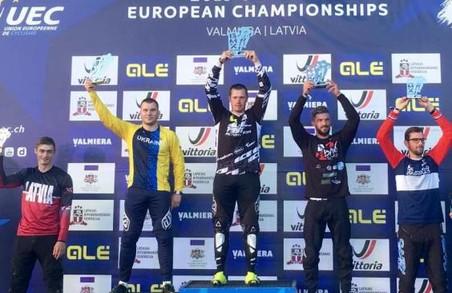 Харківський велогонщик став срібним призером чемпіонату Європи