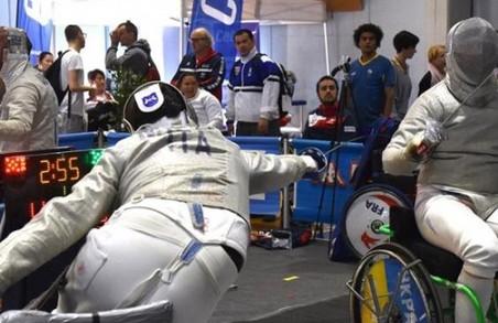 Харків'янки завоювали чотири нагороди етапу Кубку світу з фехтування на візках