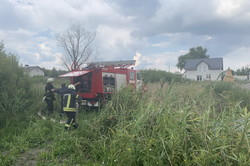 В Харкові була ліквідована масштабна пожежа