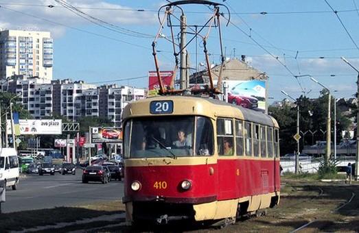 Трамваї №12 і 20 три дні ходитимуть Харковом за зміненим маршрутом
