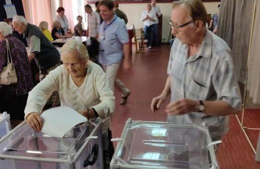 Голосування на Харківщині завершено