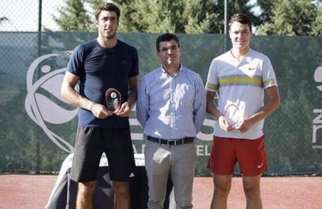 Харківський тенісист став переможцем турніру ITF