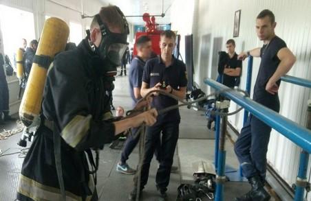 Харківські рятувальники прийняли участь в конкурсі на звання кращого по професії