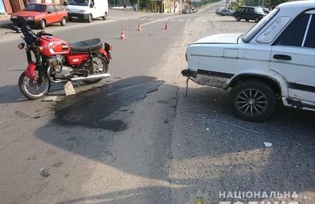 На Харківщині внаслідок аварії загинув мотоцикліст (ФОТО)