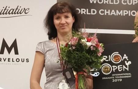 Юлія Макаренкова – срібна призерка етапу Кубка світу з шашок