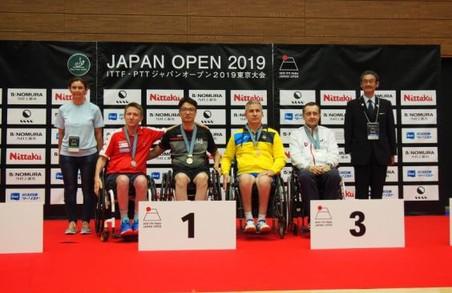 Харківські паралімпійці здобули нагороди на тенісному турнірі в Токіо
