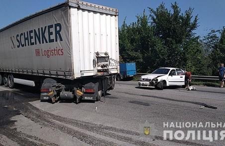 На Харківщині сталася ДТП участю чотирьох авто