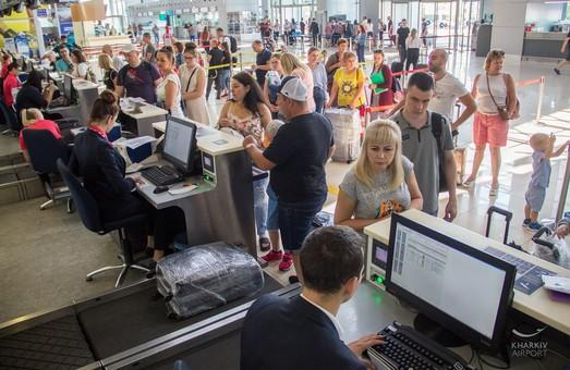 Аеропорт Ярославського в Харкові встановив новий історичний рекорд за пасажиропотоком