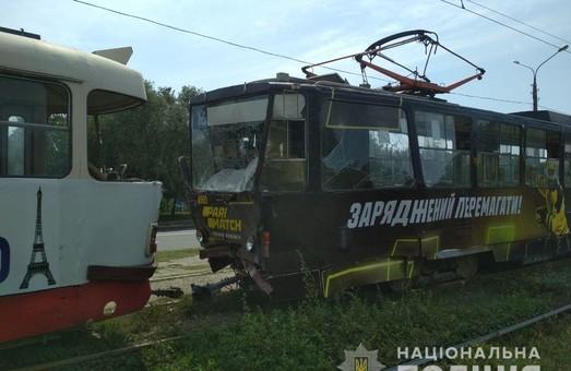 У Харкові зіткнулися два трамваї