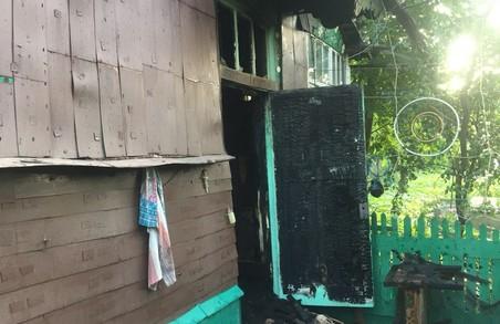 У Харкові під час пожежі загинула 84-річна жінка