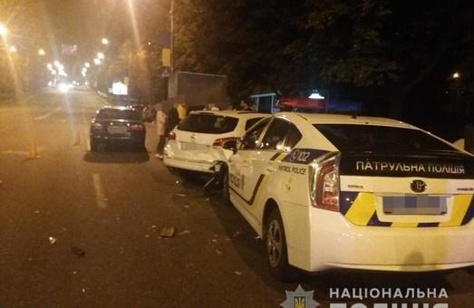 В центрі Харкова сталася аварія за участі патрульних (фото)