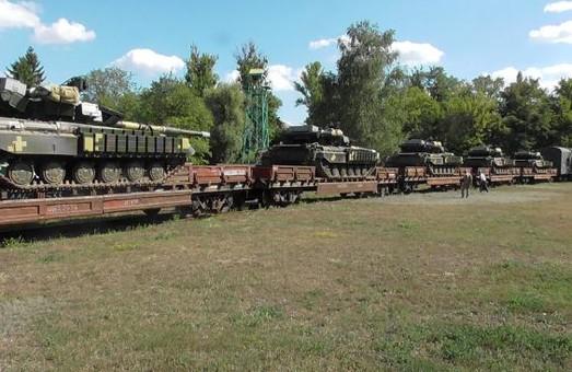 У Харкові для військових передали 10 відремонтованих танків