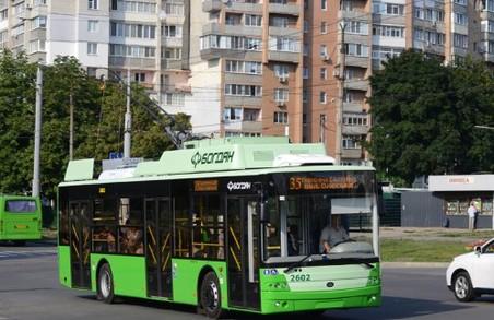 Деякі харківські тролейбуси змінять свої маршрути