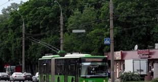 Сьогодні деякі харківські тролейбуси змінили свої маршрути