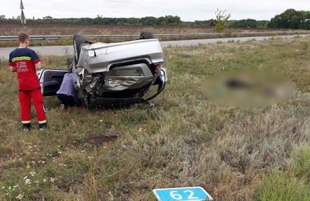 На Харківщині сталася смертельна ДТП, загинула неповнолітня дівчина