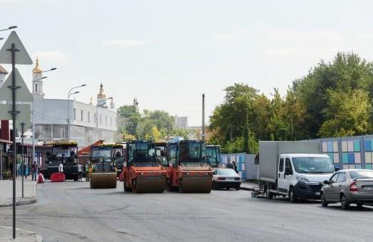 Одне з перехресть Харкова перекрите для транспорту