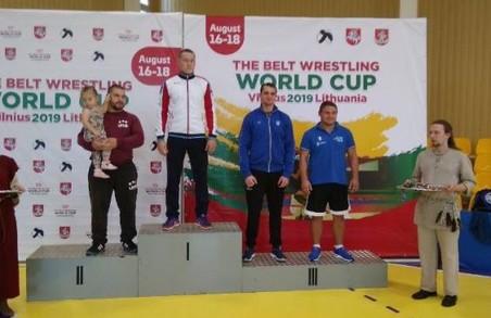 Харків'янин став призером Кубку світу з боротьби на поясах